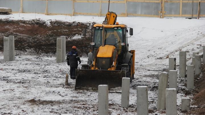 В Уфе строят новый бассейн