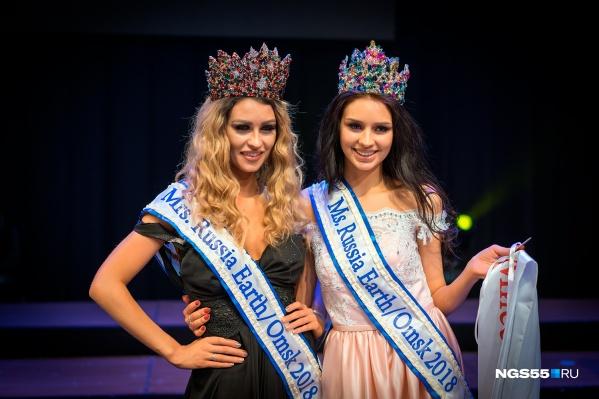 Мария Долгополова (слева) и Анастасия Лунева (справа)