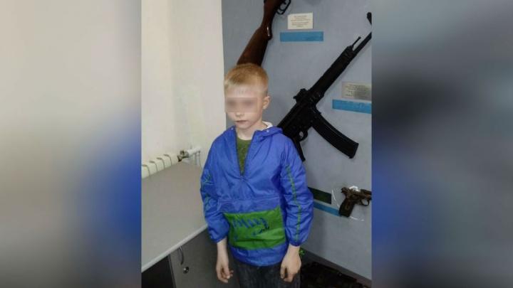 Восьмилетний мальчик, пропавший вчера в Уфе, найден