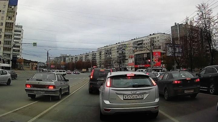 Нарушение месяца: челябинец нашёл место, где за пару минут можно собрать штрафов на 40 тысяч рублей