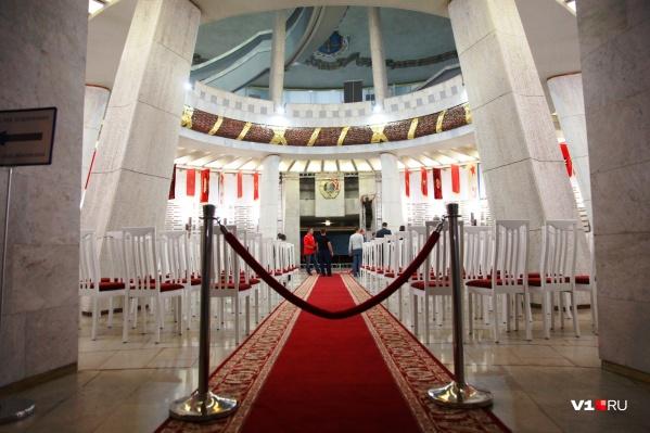 Вход в триумфальный зал закрыли за четыре дня до инаугурации