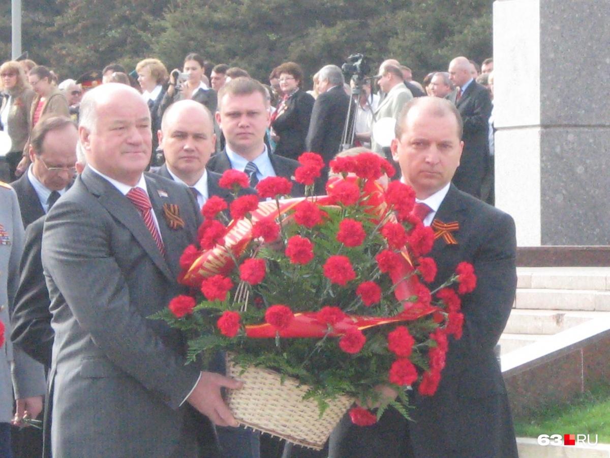 С одним из бывших губернаторов Самарской области Владимиром Артяковым