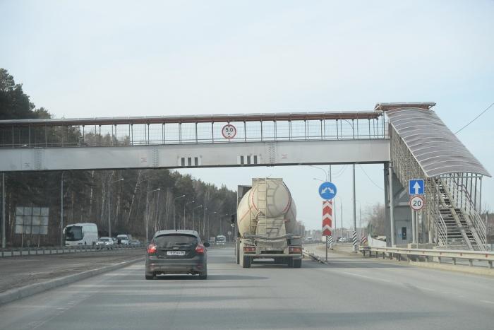 Новые пешеходные переходы построят возле поселка Сулимовский Торфяник
