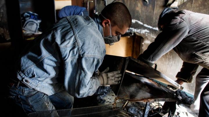 «За день погибли пять человек»: в Калачёвском районе сгорел частный дом с людьми
