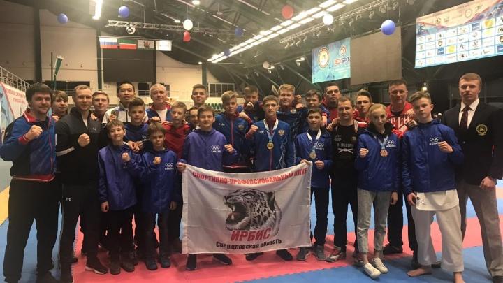 Свердловчане завоевали восемь медалей на всероссийских соревнованиях по карате в Казани