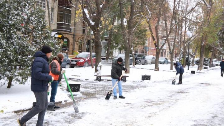 Снег — это деньги: ростовчане зарабатывают на том, что не сделали коммунальщики