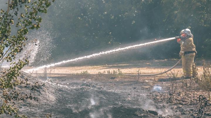200 кв. метров огня: на Южном шоссе дотла сгорел пивной киоск