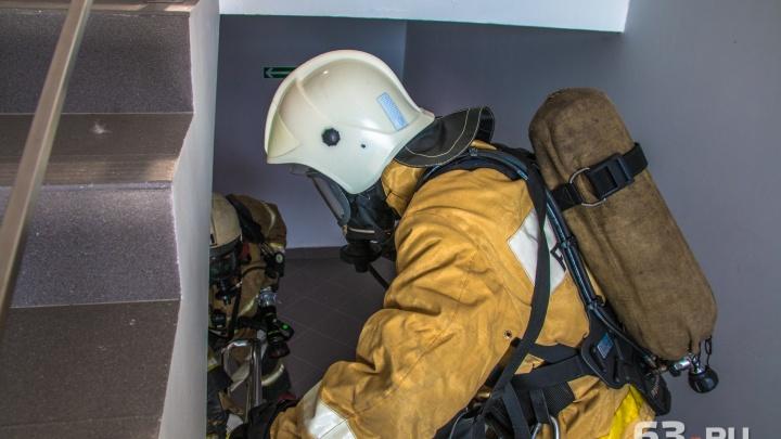 В Самаре из здания городского УВД эвакуировали более 100 человек