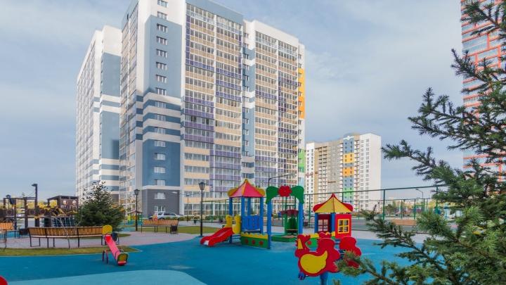 В пяти минутах от площади Ленина построили жилой комплекс с большими однушками за 1 836 000 рублей