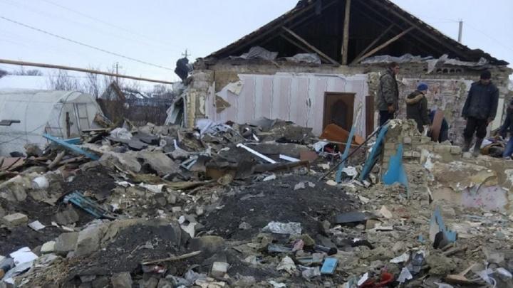 МВД обследует дом в Воскресенке, где взорвался газ