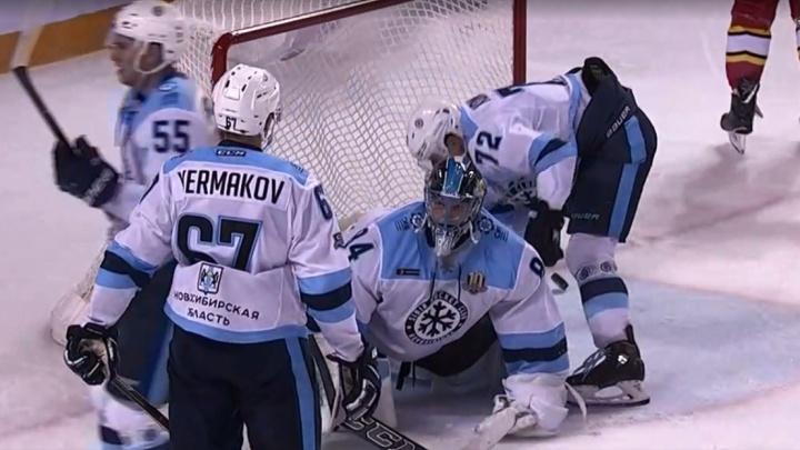 Хоккей: «Сибирь» потерпела обидное поражение в Китае