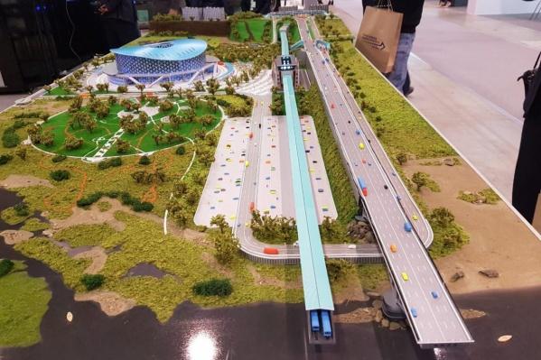 По реконструированным дорогам будет удобнее проезжать к будущей арене