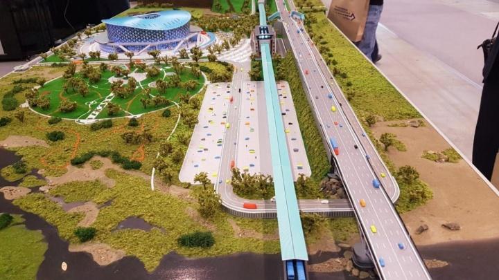Случайно появились деньги: власти объявили о реконструкции дороги по дамбе Октябрьского моста