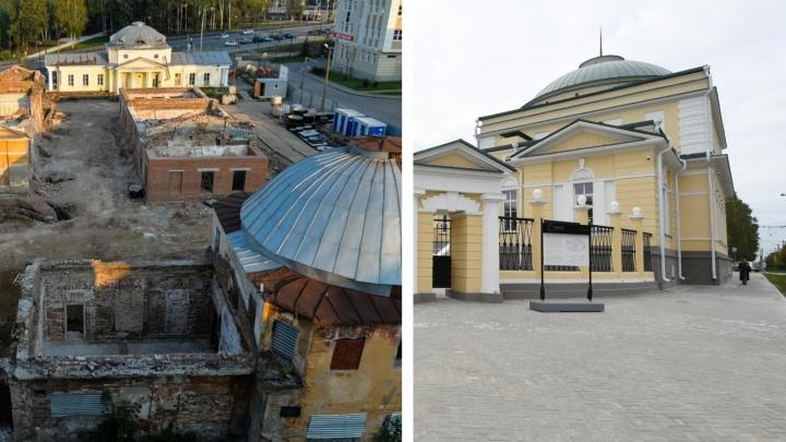 На что ушло два миллиарда: экскурсия по госпиталю на ВИЗ-бульваре, который восстановили из руин