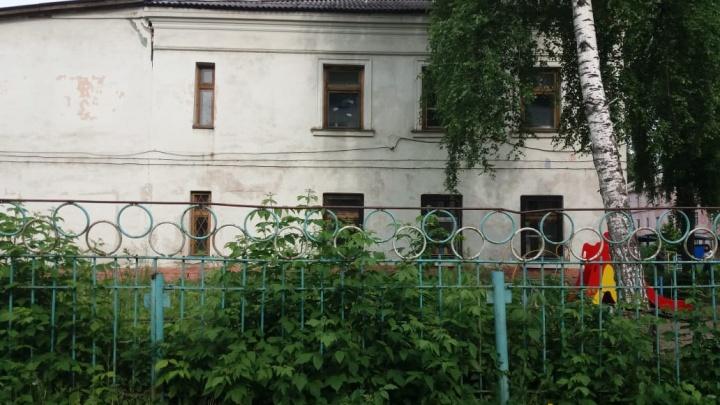 На Расточке закрыли разрушенный детский сад