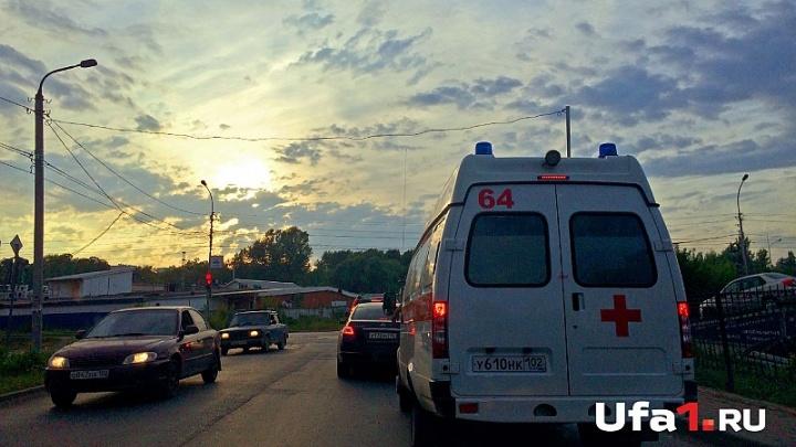В Уфе осудили лихача на BMW, по вине которого пострадала пассажирка другой машины