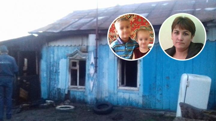 В Башкирии задержали подозреваемого в поджоге дома, где погибли двое детей