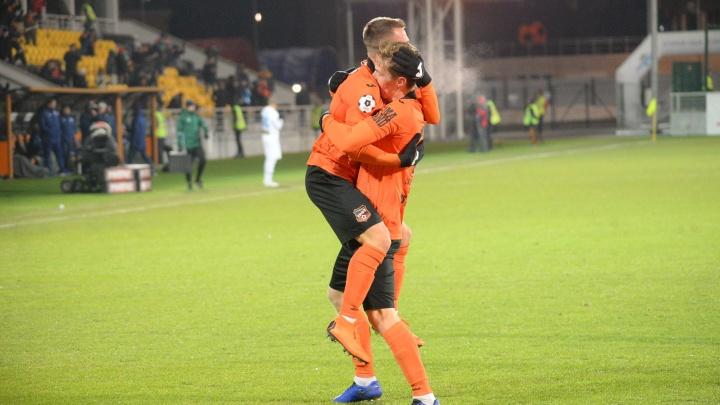 Морозная победа: Николай Димитров принёс «Уралу» победу в матчес «Оренбургом»