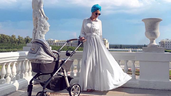 Бывшая жена экс-короля Малайзии Оксана Воеводина впервые опубликовала фото сына
