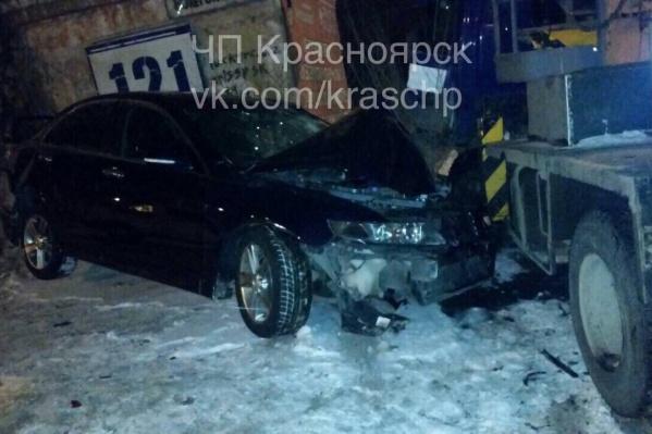 Вечером по городу произошло множество мелких аварий
