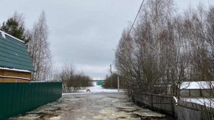 «Воды уже по грудь»: жители затопленного дачного поселка молят о помощи