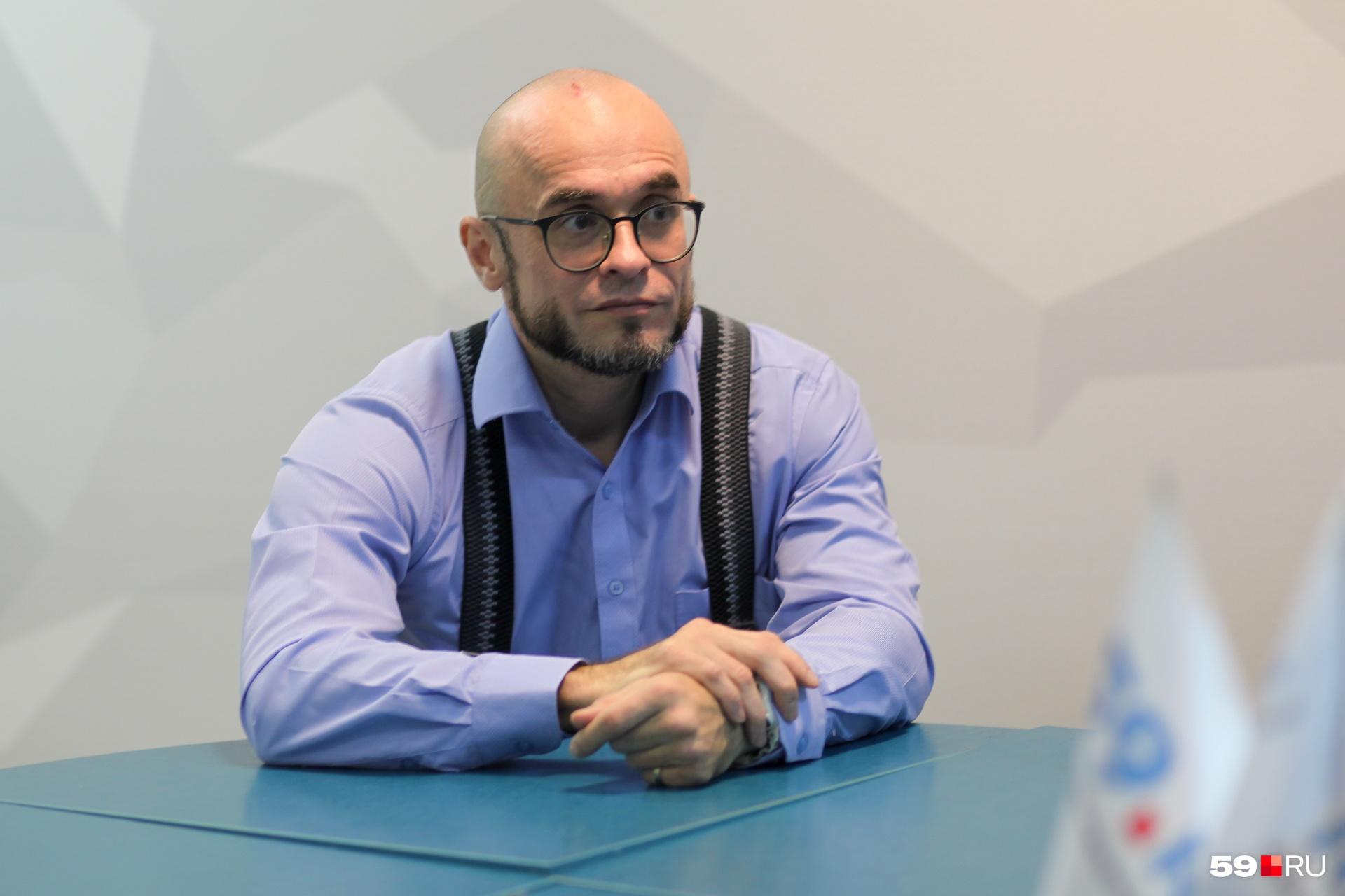 Андрей Хохряков убежден, что психиатры стали чаще болеть из-за выросшей нагрузки