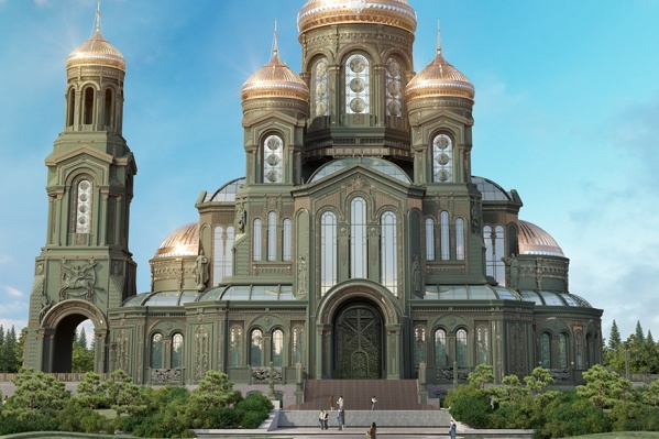 Так называемые «солдатские кисеты» разместят в строящемся храме Вооруженных сил