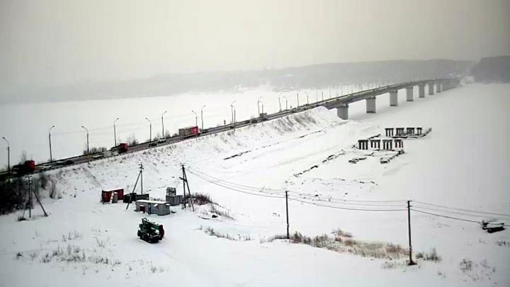 На Чусовском мосту восстановили двустороннее движение