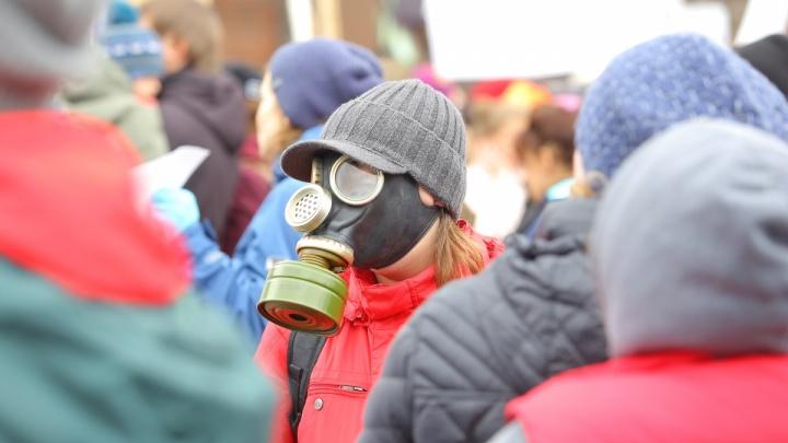 Спасатели предупредили о выбросе вредного вещества. И быстро удалили своё сообщение