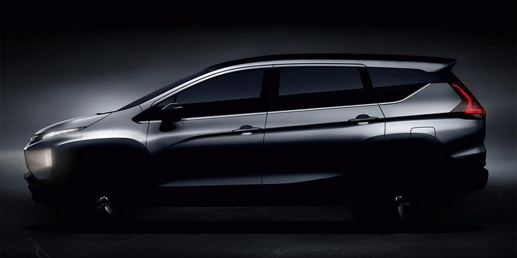Mitsubishi рассекретила кроссовер-минивэн Expander (фото)