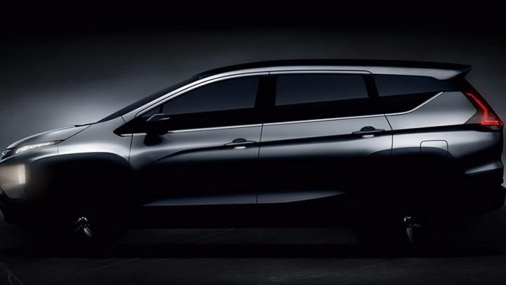 Mitsubishi рассекретила кроссовер-минивэн Expander