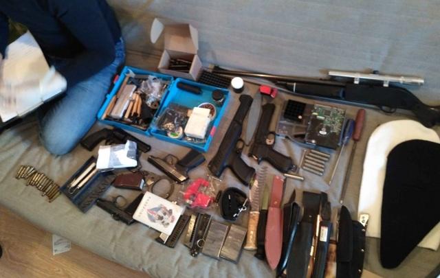В Уфе студент торговал самодельным оружием