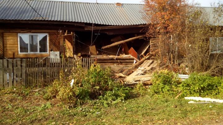 Выбило окна и снесло стену: подробности взрыва газа в Прикамье