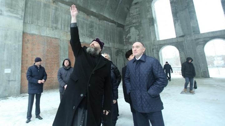 Строим на пожертвования: возведение собора в Челябинске завершат к саммиту ШОС