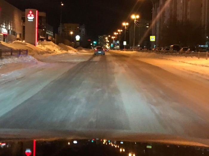 Алексей Беззуб проехал по центру города, посмотрел, как убирают пять районов