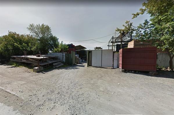 Инцидент произошёл в районе улиц Горбаня и Бетонной