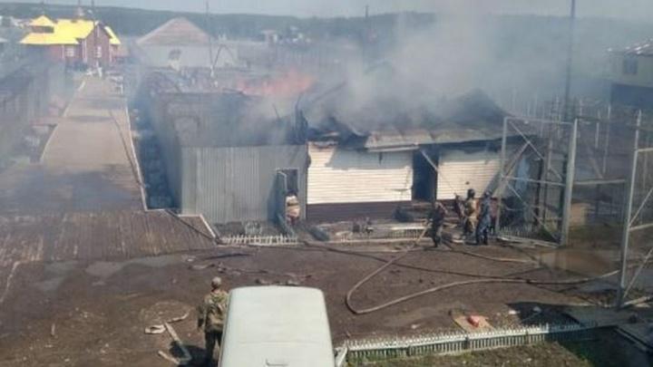 После пожара в свердловской колонии, который тушили с вертолёта, возбудили уголовное дело