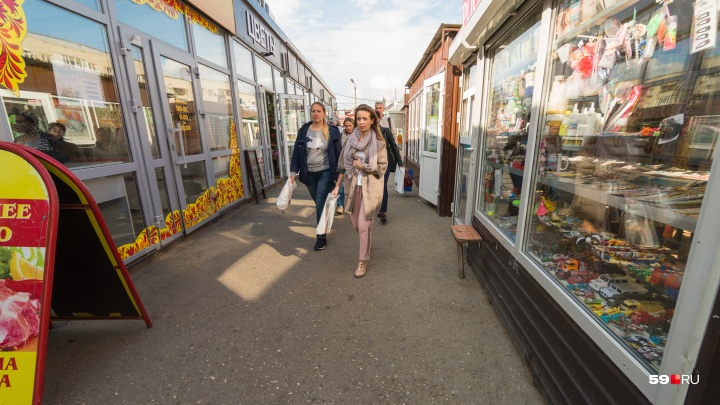 Мини-рынок на улице Островского собираются снести и заменить сквером. Но не все так просто