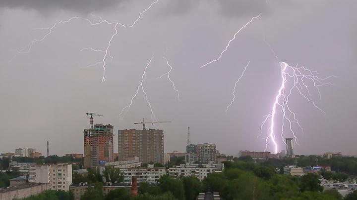 В Самарской области пройдут дожди с грозами