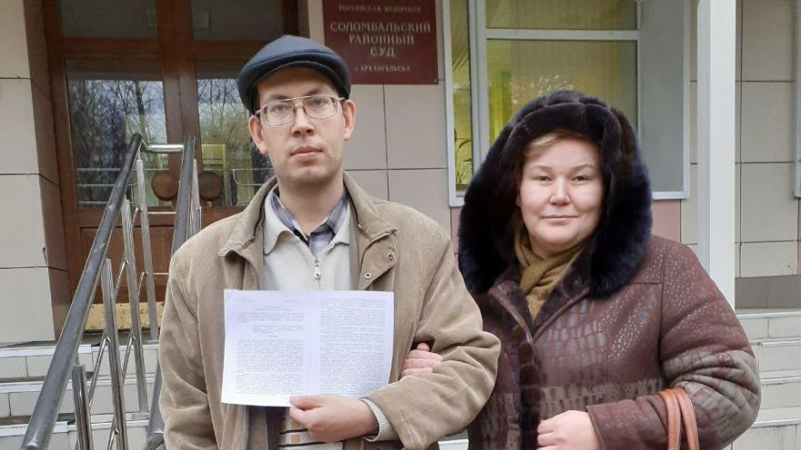 Архангельского экоактивиста оштрафовали на 10 тысяч рублей за протест 7 апреля