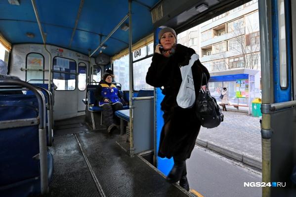 В рамках контракта в Красноярск должны были поставить 8 новых троллейбусов