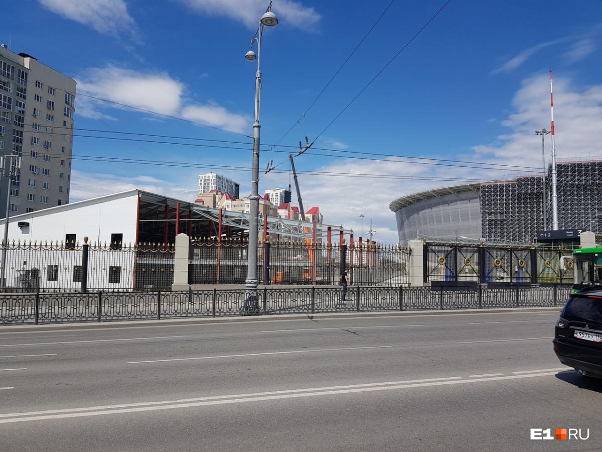 На месте временных сооружений могут построить спортивные объекты