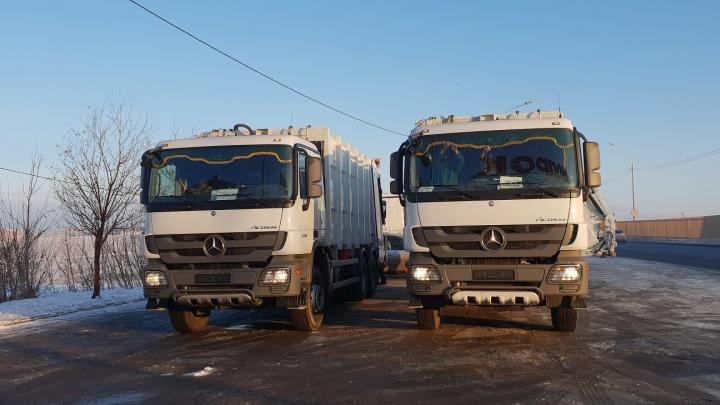 200 тонн отходов вывез левобережный оператор с объектов Универсиады