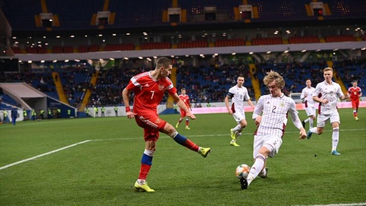Молодежная сборная России по футболу в Ростове обыграла сверстников из Латвии