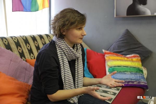 Анна Плюснина работает в Ресурсном центре со дня основания