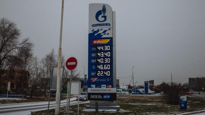 На тюменских заправках взлетели цены на дизтопливо. За неделю — на два рубля