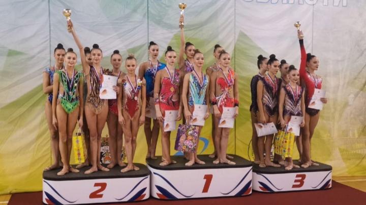 Северодвинка Валерия Пургина победила на чемпионате Северо-Запада по художественной гимнастике