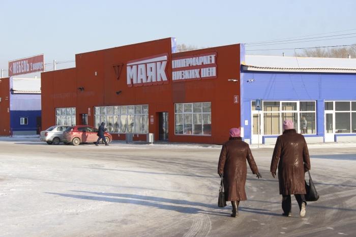 Гипермаркет «Маяк» занял больше половины одного из павильонов ритейл-парка