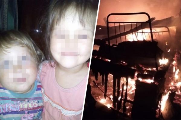 Погибшей девочке было восемь лет, мальчику — два года. Их пятилетняя сестра чудом избежала гибели