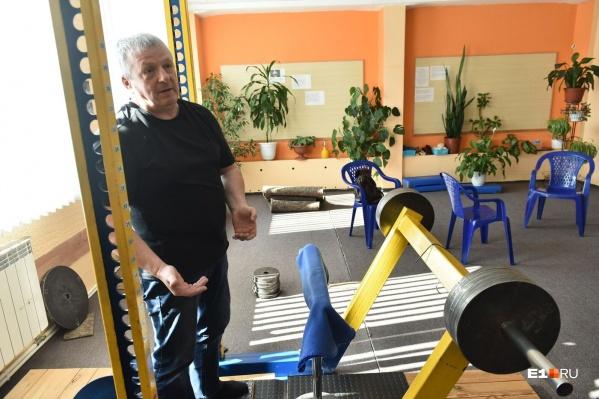 Сергей Кривых запатентовал свою методику и сам сделал спортивное оборудование